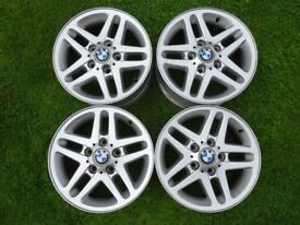 Genuine BMW 3 Series 15 inch Alloy Wheels - (6.5Jx15)