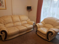 3 seat sofa and reclining armchair for sale witney - Collected ASAP