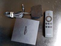 Fire TV (not fire tv stick) / Gen 1 stick with Kodi, movies, TV etc.