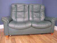 Ekornes Stressless Westminster Reclining 2 Seat Sofa Paloma Leather