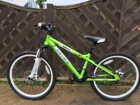 24'' Carrera Blast mountain bike, 21 gears excellent condition £75