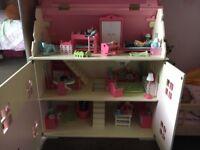 Early learning centre Rosebud dolls house