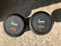 Dumbbells - 10KG pair