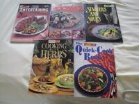 Australian Cookery Books x 5 - £1 EACH