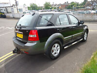 2007 KIA SERENTO XE 4X4 SERVICE HISTORY 2.5 DIESEL VERY CLEAN CAR COME WITH 12 M MOT 2 FORMER OWNERS
