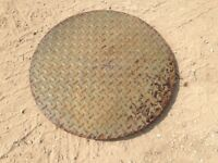 Cast Iron Manhole Cover 660Diameter 45mm Deep