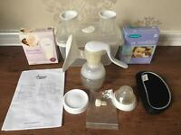 Tommee Tippee Manual Breast Pump & Milk storage Bags