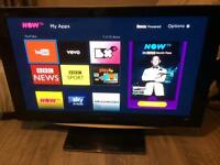 "Panasonic 42"" full HD 1080 TV - excellent condition to collect from Derby"