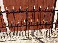 Garden gates wrought iron