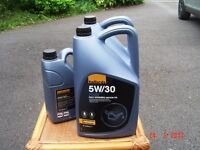 Engine oil fully synthetic Ford spec 5w-30 new