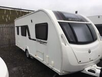Swift challenger Sport 540 touring caravan , very good condition in and out , awnings , mover inc