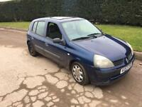 Renault Clio 1.5 dci spares or repairs (NO MOT)