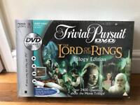Brand new Lord of the Rings Trivial Pursuit