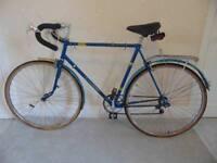 "Classic/Vintage/Retro Halfords Olympic 22.5"" Racing/Road Bike"