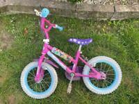 Kids 14' Disney Bike