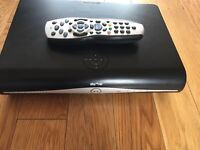 Sky+ hd box remote and cable