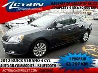 2012 Buick Verano GR COMMODITÉ  BLUETOOTH