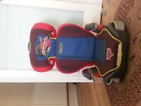 Disney cars booster seat in good condition