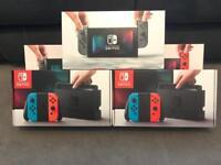 Nintendo Switch Neon & Grey Consoles *BRAND NEW*