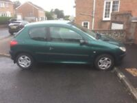 Peugeot 206 hdi 73 000 mot November Could do with a tidy up. Cheap runabout