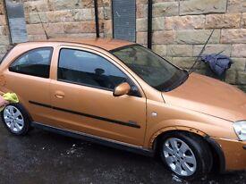 Vauxhall Corsa ...not running great.....