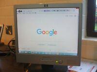 HP Monitor 15 inch