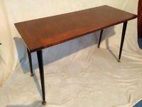Vintage Coffee Table Trapeze Legs - MCM Mid Century Modern Retro