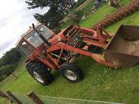 Massey Ferguson 165 with front loader 1968