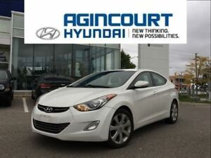 2011 Hyundai Elantra Limited/NAVI/LEATHER/SUNROOF/ONLY 87176KMS