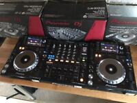 Pioneer CDJ 2000 Nexus + DJM 900 Nexus Mixer - Mint Fully Boxed