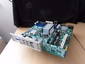 Motherboard, Core2 Q9550 CPU, 8Gb Ram and Cooling Fan