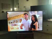 60 inch lg smart TV with wall bracket and lg dongle