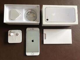 iPhone 7, unlocked 128gb in silver