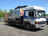 MERCEDES BENZ ATEGO RECOVERY 2001 0N A Y PLATE