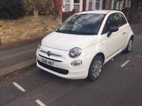 Fiat 500 2016 (Stop/Start) 1.2 Petrol Manual Low Mileage White - In Warranty - Full Service History
