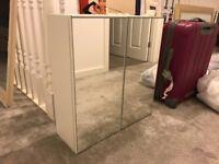 Ikea Lillangen mirrored bathroom cabinet