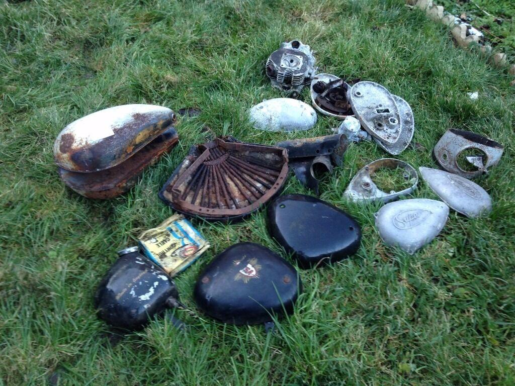 Various BSA Motorcycle Parts