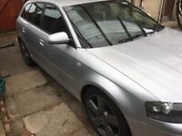 Spares or repair Audi A3 2.0tdi auto sline sportback