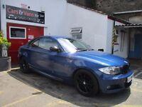 2009 BMW 1 SERIES 2.0 120d M Sport 2dr M SPORT FULL SERVICE HISTORY