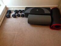 Dumbbells and equipment