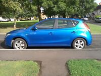 Hyundai i30 1.4l 2009 (59 plate)in excellent condition inside and out,with brand new M.O.T.