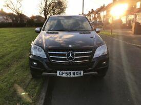 Mercedes ML 320 CDI SE Auto Black