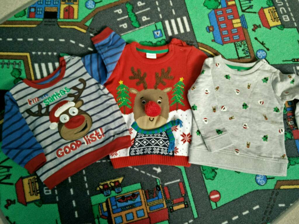 Baby boy jumpers 12-18 months