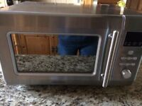Kenwood silver microwave