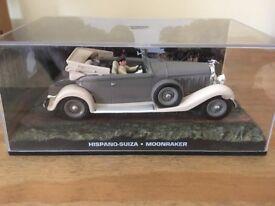 1:43 Hispano-Suiza - JAMES BOND COLLECTION - Moonraker - FABBRI