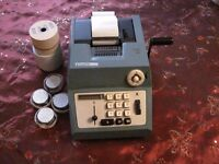 Vintage Olivetti Summa Prima 20 Retro Adding Machine