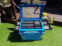 Blue fishing box / seat