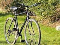 Mans hybrid bike 700c wheels 21 speed