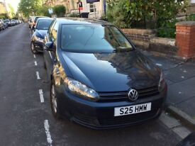 2011 VW Golf Match 1.4 TFSI Petrol, Manual, blue, excellent condition
