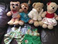 Build a Bear Teddy's